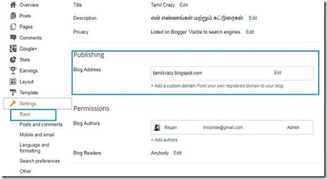 bigrock-blogger-mapping-blogger-settings-page