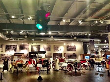 Obiective turistice Alaska: Muzeu masini epoca Fairbanks