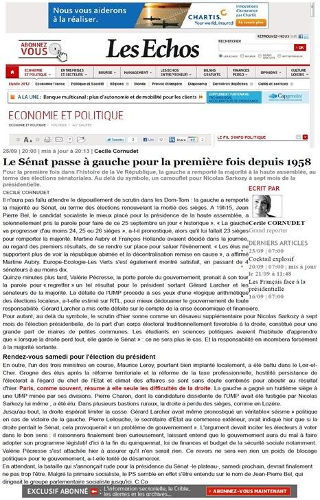 Sénatoriales LesÉchos 250911