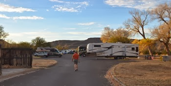 Rio Grande Village RV Park with full hookups