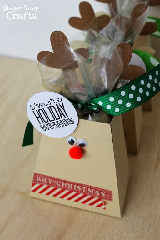 s'more treat boxes for #Christmas #gifts