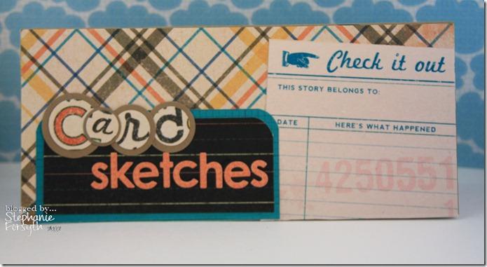 Card Sketch Book