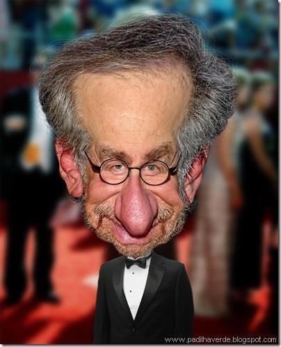 Caricatura Steven Spielberg