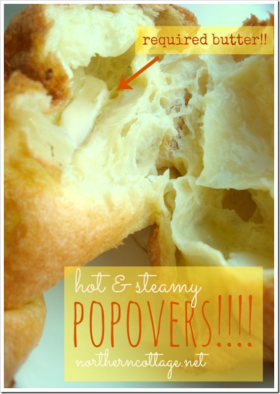hot popovers @northerncottage.net