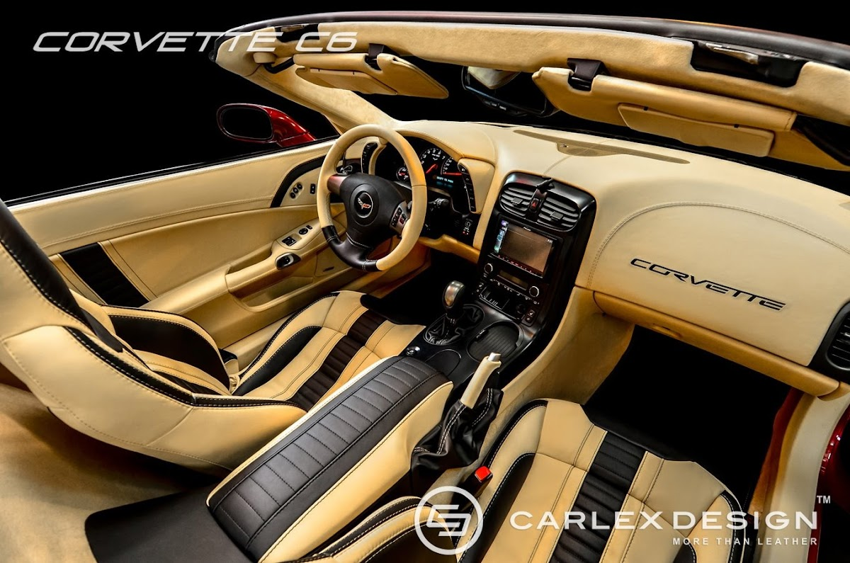 Mercedes v class gets full treatment from carlex design - What Say You About This Carlex Design Customized Corvette C6 Interior
