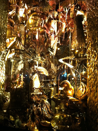 The windows at Bergdorf Goodman were ornate, luxurious, and beautiful. Their attention to detail is phenomenal and really shows in their windows year after year. This year's theme was Carnival of Animals. This window is called the 
