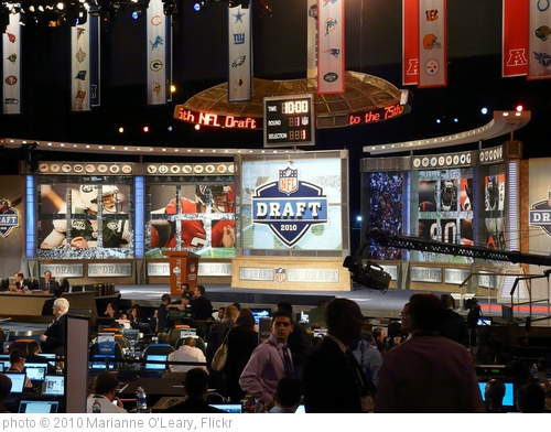 'NFL Draft 2010 Set at Radio City Music Hall' photo (c) 2010, Marianne O'Leary - license: http://creativecommons.org/licenses/by/2.0/