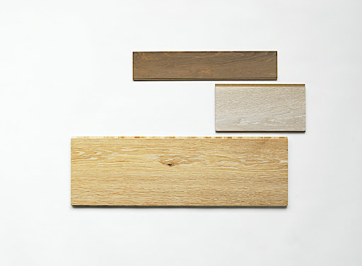 In engineered woods, (top to bottom) Winswept Gray Maple from Armstrong (armstrong.com), Artic Oak from Kährs (kahrs.com) and European White Oak prefinished with UV oil in White from Bois Chamois (boischamois) were my top pics.
