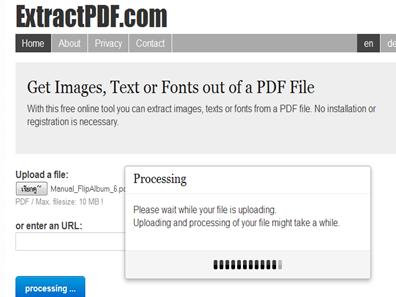 แยกภาพจาก pdf แบบออนไลน์