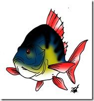 peces clipart blogolorear (40)