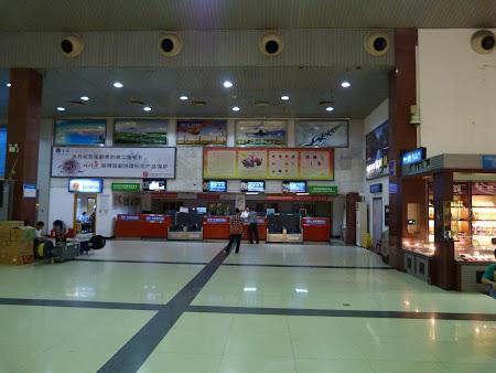 Zhangjiajie Airport in China