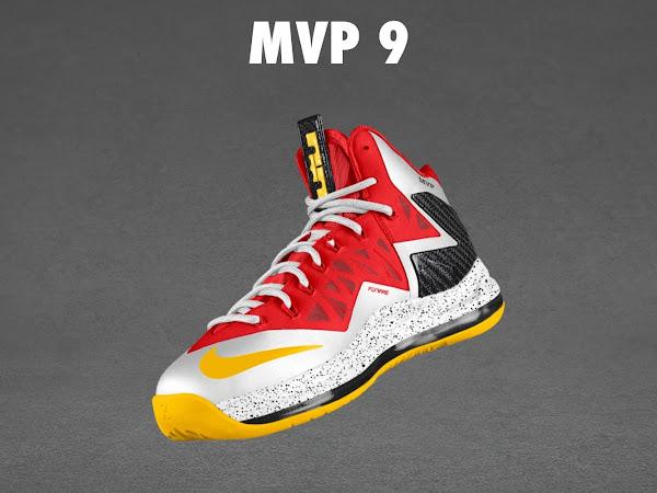 LeBron X PS Elite MVP iD Inspired by Unreleased LeBron 9 MVP