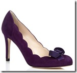 LK Bennett Purple Shoe