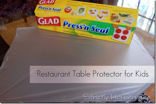 Table Protector 1