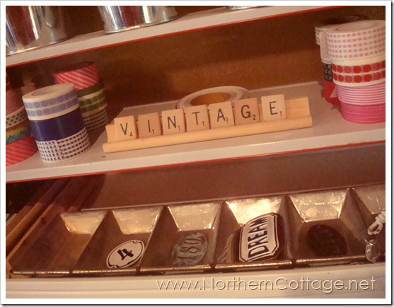 vintage storage @northern cottage