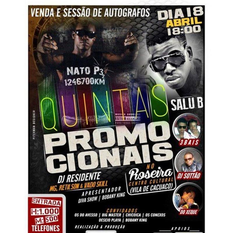 Quintas PromoCionais (Dia 18 de Abril) [Publicidade]