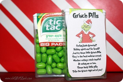 graphic about Grinch Pills Free Printable identified as obSEUSSed: Grinch Xmas Craft Spherical-up