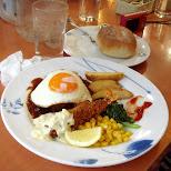 denny's breakfast in japan in Yokohama, Kanagawa, Japan