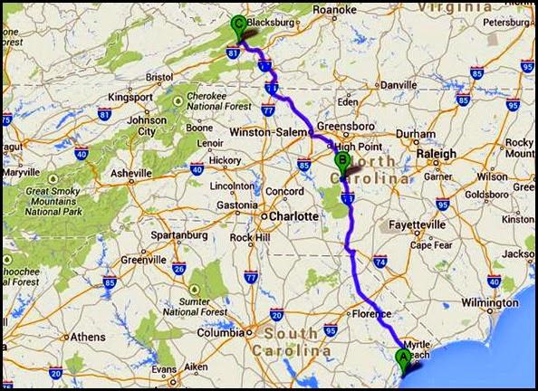 00 - Stony Fork Travel Map