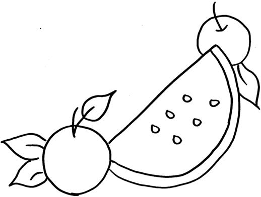 desenho-melancia-maçã