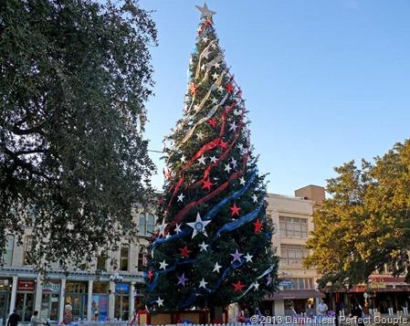 Alamo Christmas Tree