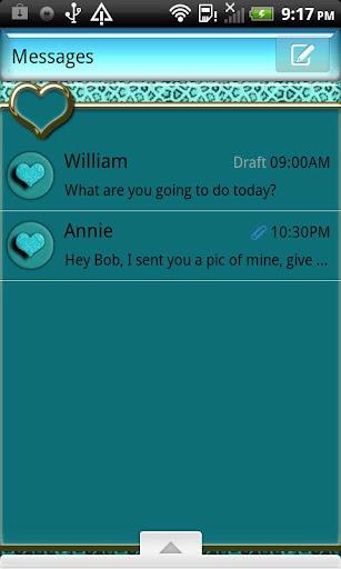 GO SMS THEME AquaCheetah4U
