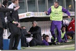 Delio Rossi golpea un jugador