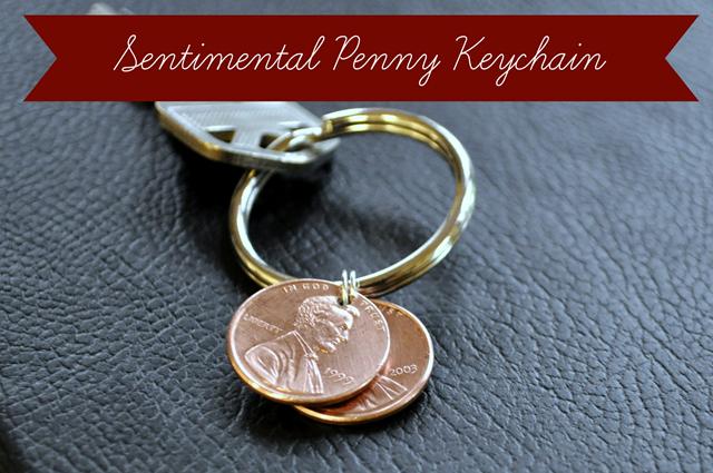 Sentimental Penny Keychain