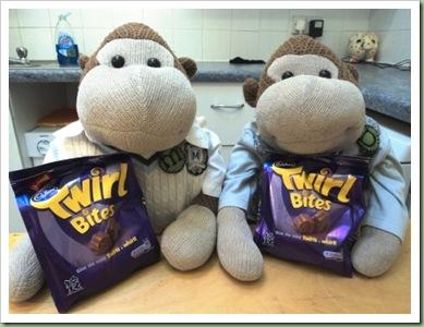 Cadbury Twirl Bites