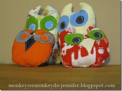 Owl Stuffie and pattern (11)