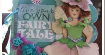 Scrapadabadoo enchanted garden fairy mini by zandra - Enchanted garden collection free download ...
