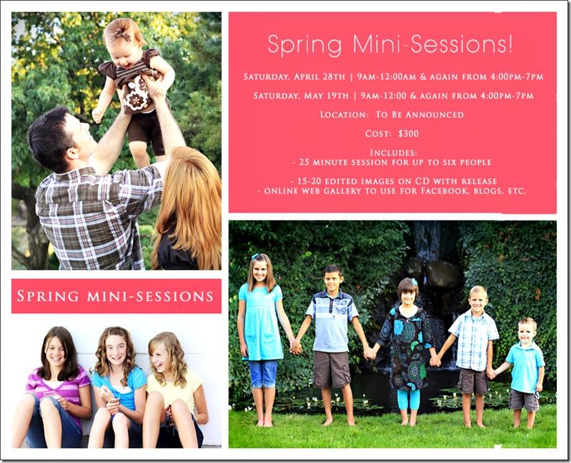 Spring Mini Session