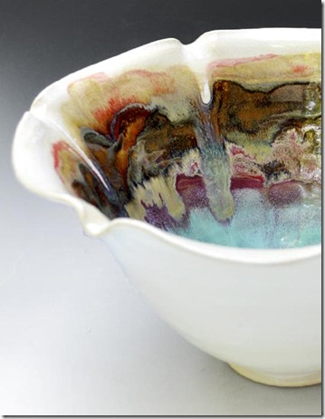 flower bowl detail