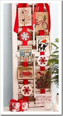 christmas card display 4