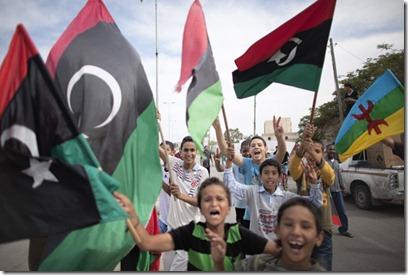 Libyans celebrate