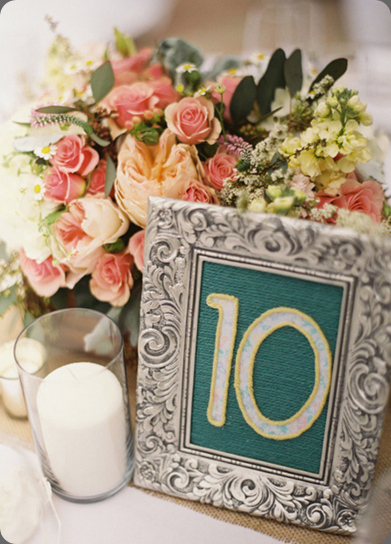 table number picture-20 Jill Thomas and modern bouquet