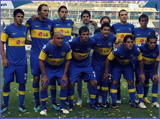 equipo boca campeon 2011