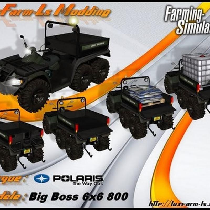 Farming simulator 2013 - Polaris Quad 6X6 BigBoss v 1.1 Fixed