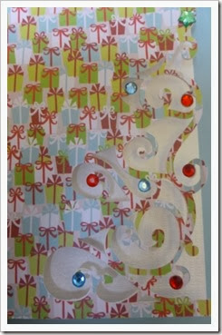 Silhouette Cameo Christmas Card