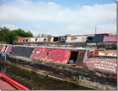 4 under repair at bates boatyard