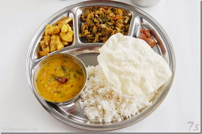 7s meals series 4 south indian lunch
