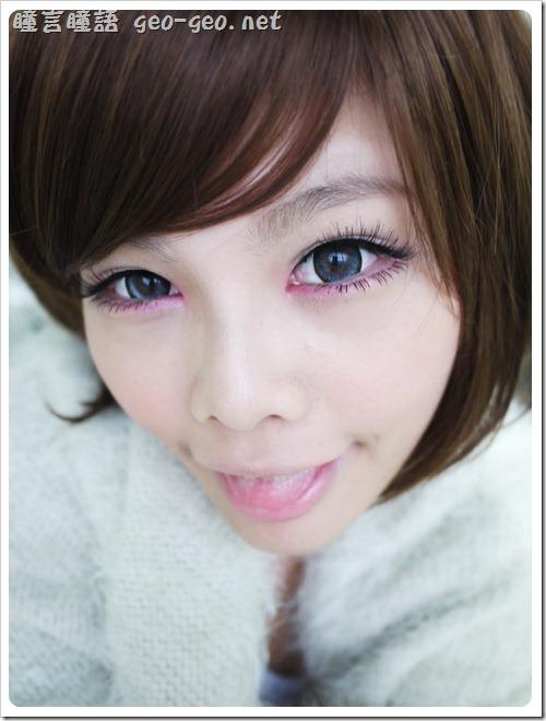 ( 7 ) 品牌:日本Messish KiraKira SweetyEye-Brown糖果灰