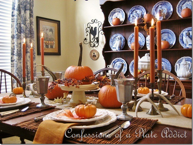 CONFESSIONS OF A PLATE ADDICT Pumpkins and Pewter
