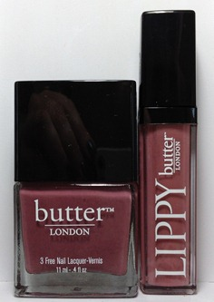 butter LONDON AutumnWinter 2012 Lippy Collection