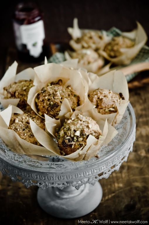 Spiced Cranberry and Pistachio Muffins (0027) by Meeta K. Wolff