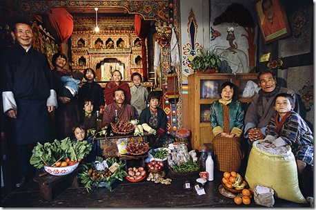 obiceiuri alimentare in BHUTAN