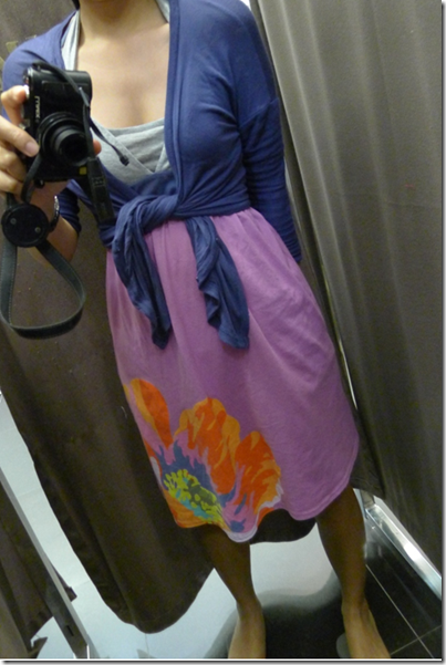 #2: Tube dress on tank top