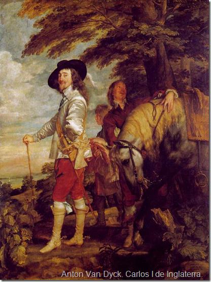 Anton Van Dyck. Carlos I de Inglaterra.