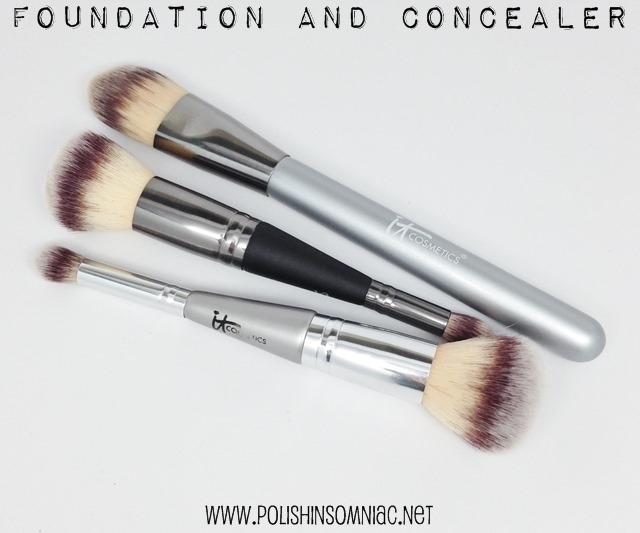 My Top 10 Makeup Brushes - Foundation and Concealer