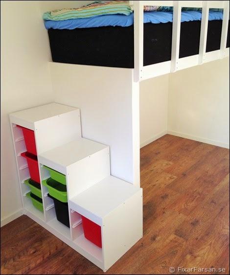 Bygga Sovloft Till Barn& Resårsäng (Efterbilder) FixarFarsan
